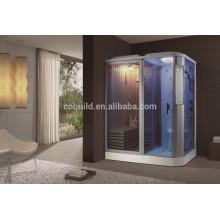 K-704 Indoor-Sauna Bad komplett Dampfdusche mit Whirlpool-Badewanne