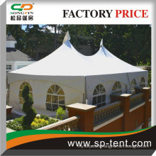 Catering Bar Tents for sale with windows sidewalls and white top