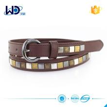 Brown PU Studs Boys Belt