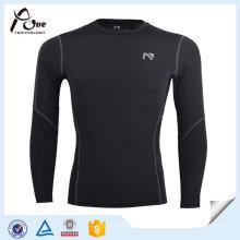 Men Long Sleeve Mesh Gym Jersey Compression Shirts