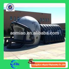 Customized large football helmet inflatable inflatable football helmet tunnel for sale