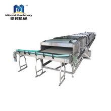 Stérilisateur continu de type rouleau de machine de stérilisation de jus de fruits d'acier inoxydable pour le produit en conserve