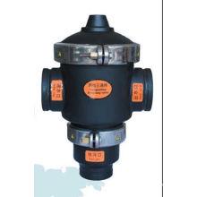 Válvula hidráulica de 3 vías del negro del precio de fábrica del filtro de agua