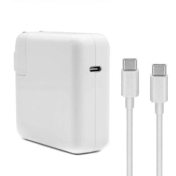 Carregador USB tipo PD de 61W para Apple