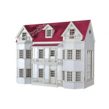 1/12 scale Luxury Manor Dollhouse miniature in Wooden