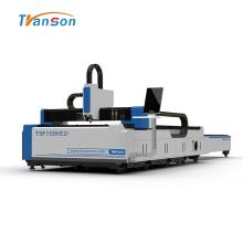 Machine de découpe laser à fibre à plate-forme d'échange