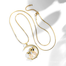 2020 Women Necklace moon and star for Women