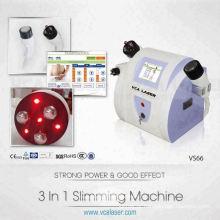 Mini máquina de cavitação de redução de gordura de ultra-som rf