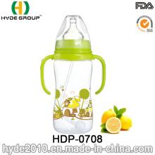 320ml Plastic Cheap Baby Feeding Bottle (HDP-0708)