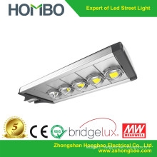 5 COB bulbs Super Bright LED street light Bridgelux chips led outdoor lamp 200w~230w 5 years guarantee high quality