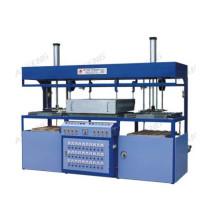 Máquina de formação de vácuo de cabeça dupla semi-automática