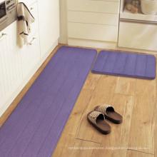kitchen wachable microfiber non-slip area rug pad