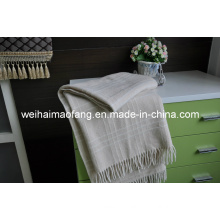 100%Pure Merino Wool Throw (NMQ-WT040)