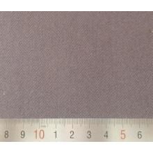 Tissu à armure sergé Poly/coton brun Workwear 3/1