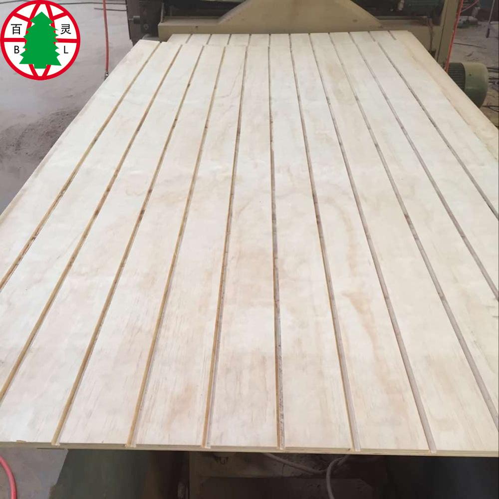 Pine Grooved Plywood