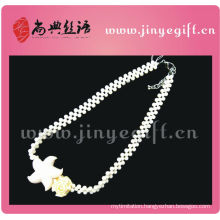 Fashion Summer Jewelry Ocean Style White Stone Bridal Necklace