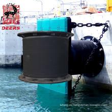 Parachoques marino de la defensa estupenda de la célula del tamaño modificado para requisitos particulares para la protección del muelle