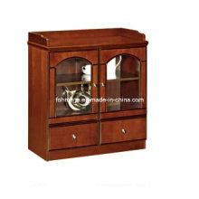 Amérique du Nord Market Small Corner Wooden Antique Office Coffee Cabinet (FOHS-E805)