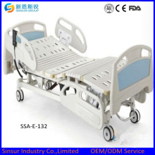 Mobiliario Hospitalario Electric 3 Function ABS Siderail Medical Bed