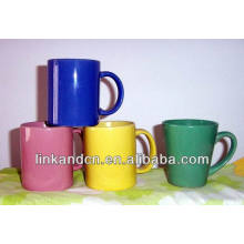 Haonai 2014 fine 11oz solid color ceramic coffee mugs