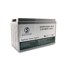 12v 100Ah lithium battery for electric power system