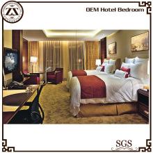 Jetés de lit de l'hôtel de bonne qualité