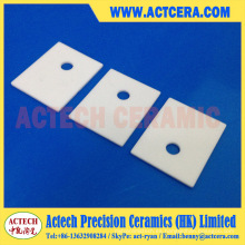 Hoja de cerámica de alúmina personalizada Al2O3 al 96%