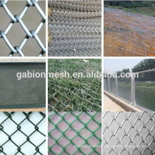 used chain link fence for sale/galvanized chain link fencing/decorative chain link fence(china supplier)