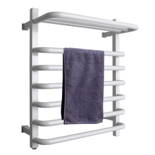 Multipurpose Black & White color Towel rack heated towel rail