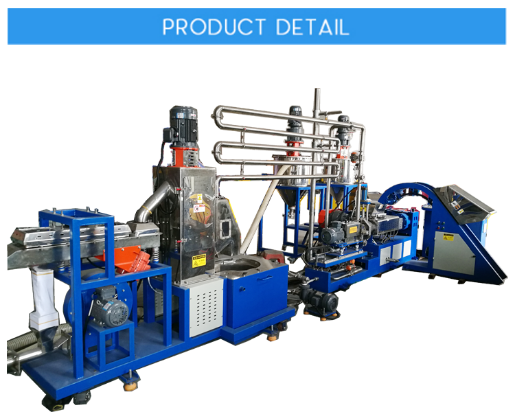 Under-Water Extrusion Pelletizing Line