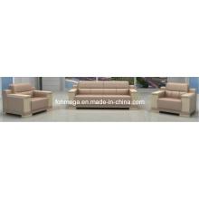 Canapé exécutif moderne 1 + 1 + 3 (FOH-8015)