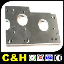 CNC Lathing precisão aço inoxidável CNC Machined Metal / peças de aço