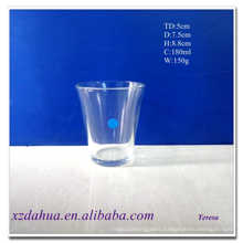 180ml Drinking Glass Water Cup