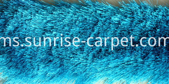 Polyester Silk Shaggy Plain Color