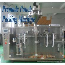 Équipement d'emballage de poche de Premade / machines à emballer de remplissage de cachetage