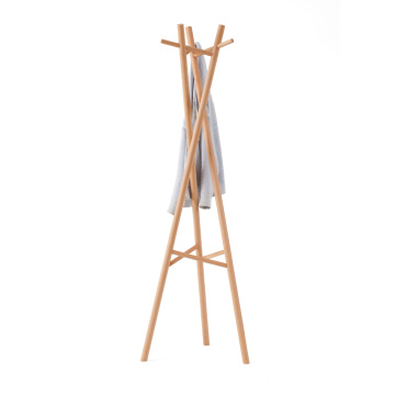 FAS Beech Wooden Coat Stands Tuchregale