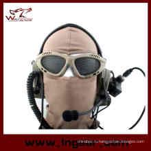 Очки оптические очки очки Airsoft круглых отверстий армии 039