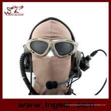Chaud! Résistance au choc tactique Airsoft Net de chasse yeux protection Sports de plein air de maille en métal verres lunettes