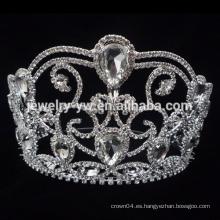 Venta al por mayor 2015 de la venta caliente de la venta caliente crowns.pageant coronas para la venta