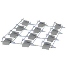 Commercial Application 1MW Solar System Flat Roof Solar Panels Mount