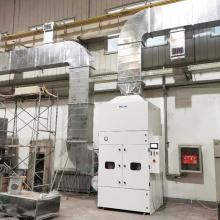 Lösung zur Schweißrauchabsaugung Zentrales Staubsammelsystem