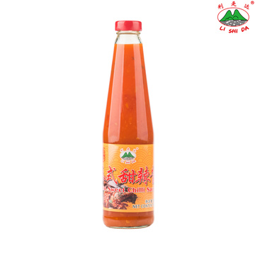 500g Bottle Glass Thai Sweet Chilli Sauce