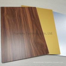 Wooden Aluminum Comlosite Panel