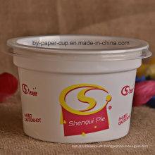 Alta qualidade de plástico Ice Cream Bowl