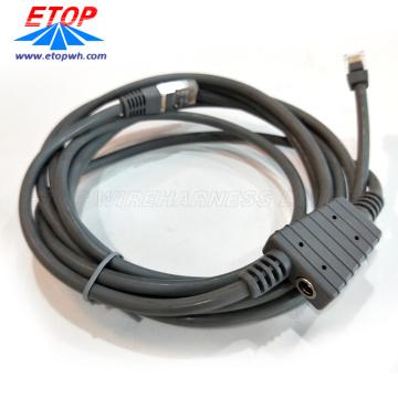 Hochwertige kundenspezifische USB 2.0-geformte Kabelbaugruppe