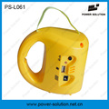 Mini Solar Lantern with Mobile Phone Charger for Camping or Emergency (PS-L061)
