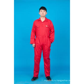 65% полиэстер 35%хлопок безопасности высокого качества с длинным рукавом дешевые равномерное (BLY1019)