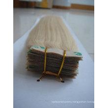 wholesale Brazilian human tape hair extension/skin weft