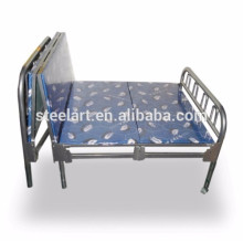 Single tier hotel use stainless steel bed frame