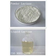 Lactasa, Ph4 a 7, Tem30 a 60, Actividad enzimática 2,000ACL U / g a 180,000ACL U / g, Polvo y forma líquida, Grado alimenticio, Beta-Galactosidasa